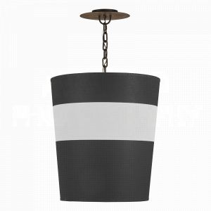 Black Jasper Tapered Pendant- LG