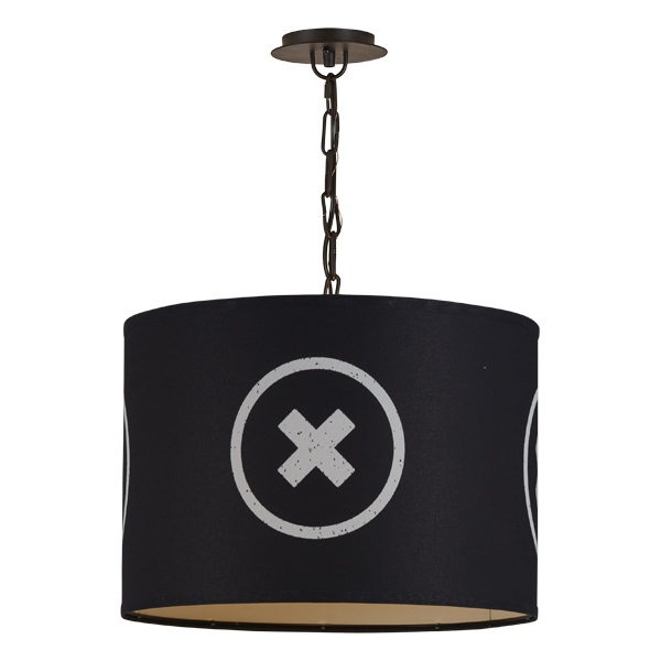 Obsidian Barrel Pendant- SM