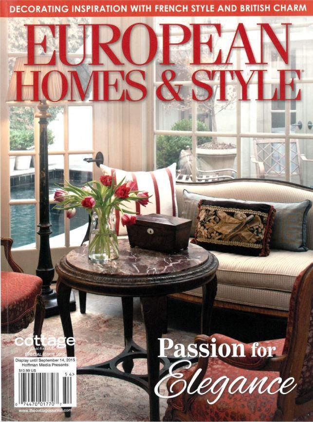 european home cover